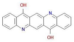 Pigmento-viola-19-molecolare-Struttura